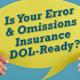Professional Liability Insurance (E&O)